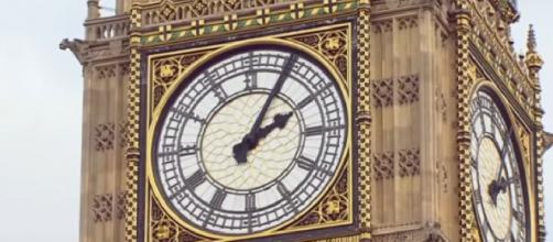 Big Ben goes silent for four years starting Monday. [Image source/CBS Evening News YouTube video]
