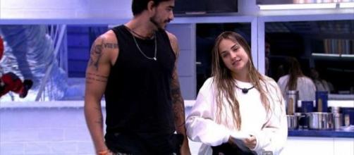 Guilherme e Gabi viveram momentos tensos no 'BBB20' antes de consolidar a relação. (Reprodução/TV Globo)
