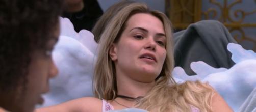 Marcela critica postura do líder Guilherme. (Reprodução/TV Globo)