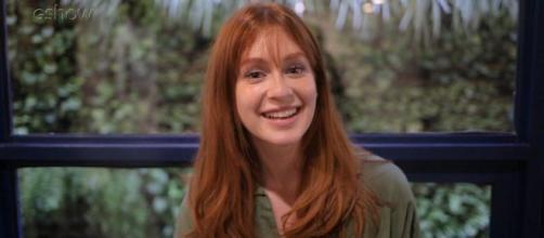 Marina Ruy Barbosa diz que está acompanhando reality. (Reprodução/TV Globo)