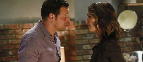 Nel tredicesimo episodio di Grey's Anatomy 16, Jo Wilson fa sapere che il marito non risponde alle sue chiamate e cerca di evitarla.