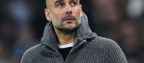 Pep Guardiola, tecnico del Manchester City.