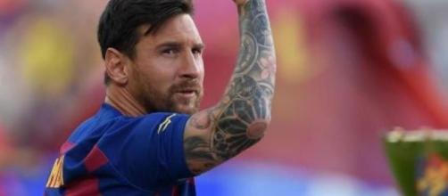 Leo Messi, punta del Barcellona.