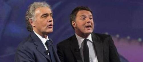 Massimo Giletti critica Matteo Renzi e Giuseppe Conte