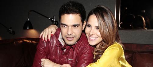 Wanessa Camargo e seu pai Zezé Di Camargo. (Arquivo Blasting News)