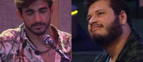 'BBB20': Após indicar Boca Rosa ao Monstro, Guilherme reclamou da atitude e Victor Hugo questionou o motivo da irritação. (Reprodução/ TVGlobo)