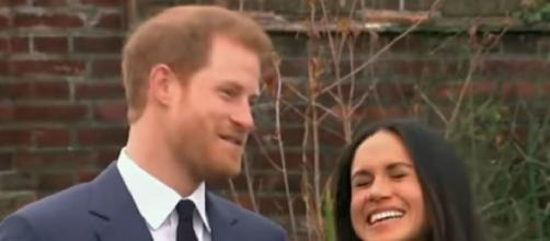 Prince Harry, Meghan step out for 1st time in US since royal departure. [Image source/ABC News YouTube video]