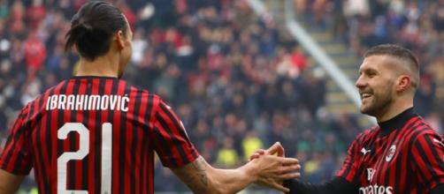 Rebic-Ibrahimovic, coppia confermata anche per Milan-Torino.