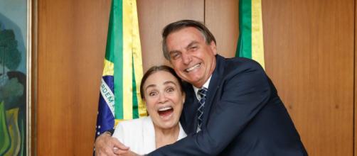 Regina Duarte enfrentará desafios impostos pelo próprio Jair Bolsonaro. (Reprodução Instagram)