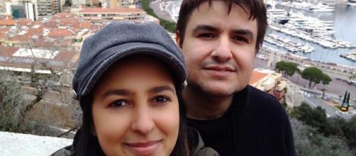 Casal está na França desde o ano passado. (Arquivo Pessoal)