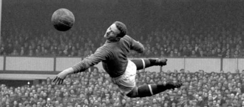 Harry Gregg, portiere del Manchester United dal 1957 al 1966.