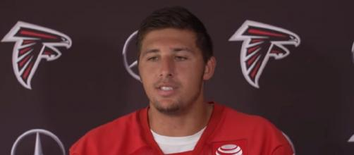 Hooper could help boost the Patriots' tight end chart (Image Source: Atlanta Falcons/YouTube]