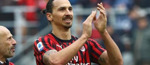 Ibrahimovic, attaccante del Milan.