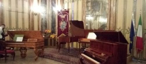 Inaugurazione collezione pianoforti antichi Amato/Parisi Palazzo Comitini-Palermo