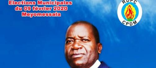 Le candidat Mfou'ou Christian Mebiame à la tête de la Commune de Meyomessala (c) Christian Mebiame