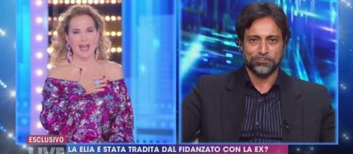Live, è scontro tra la D'Urso e Pietro Delle Piane, Barbara: 'Impara l'educazione'.