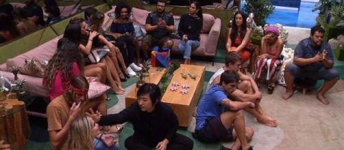 Noite foi de formação do quarto Paredão do 'BBB20'. (Reprodução/TV Globo)