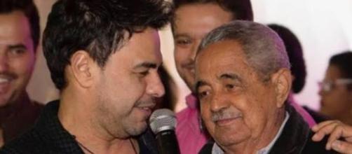 Pai de Zezé Di Camargo e Luciano deixa a UTI. (Arquivo Blasting News)