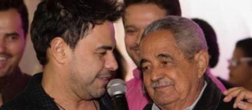 Pai de Zezé di Camargo e Luciano é internado na UTI. (Arquivo Blasting News)