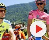 Ivan Basso e Alberto Contador compagni di squadra ai tempi della Tinkoff