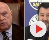 L'ex magistrato Carlo Nordio e Matteo Salvini.