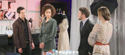 Beautiful, anticipazioni americane: Liam contro Thomas per le 'manipolazioni' su Hope, lei sente tutto.
