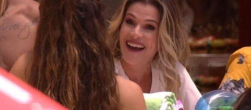 Ingrid Guimarães esteve presente no 'BBB20'. (Reprodução/TV Globo)