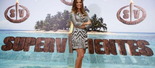 Lara Álvarez, presentadora de 'Supervivientes'. / libertaddigital.com