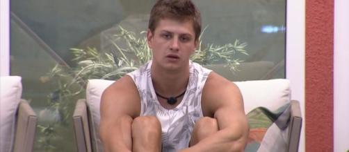 Lucas fala sobre paredão da semana. (Reprodução/TV Globo)