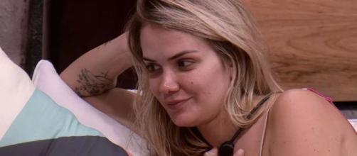 Marcela avalia jogo de Pyong: 'Ele sabe quem vai até a final'. (Reprodução/TV Globo)