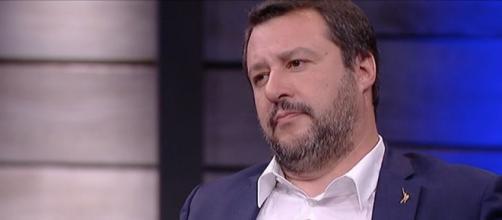 Matteo Salvini, primo nei sondaggi politici