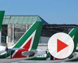 Personale di Alitalia in sciopero