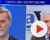 Possibile sanatoria di migranti: Belpietro si scontra con Delrio.