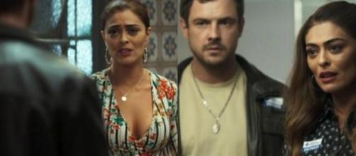 A Dona do Pedaço cometeu um erro de continuidade. (Reprodução/TV Globo/)