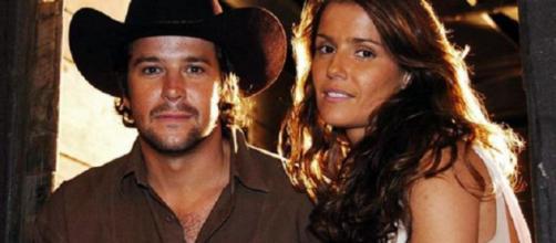 """""""América"""" acompanhou a história de Sol (Deborah Secco) e Tião (Murilo Benício). ( Divulgação/TV Globo )"""
