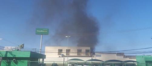 Avião cai sob a cidade de Guarapari. (Arquivo Blasting News)