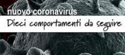 Coronavirus: 10 regole da seguire per contrastare il contagio
