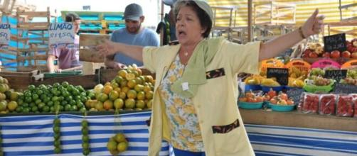 'Dona Xepa' arrancou risadas dos telespectadores. (Reprodução/TV Globo)