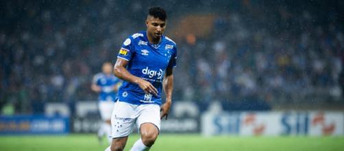 Éderson pode jogar no Corinthians. (Reprodução: Bruno Haddad/Cruzeiro)