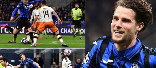 Hateboer, Ilicic y Freuler marcaron los goles del Atalanta. www.dailymail.co.uk