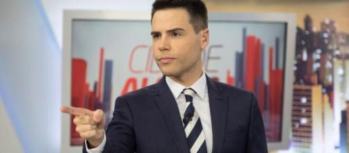 Luiz Bacci é apresentador do 'Cidade Alerta', na Record TV. (Divulgação/ Record TV)