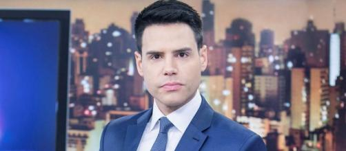"""Luiz Bacci noticiou assassinato ao vivo no """"Cidade Alerta"""". (Reprodução/Record TV)"""