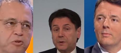 Scontro Renzi-Conte, per Mentana rottura al 99%