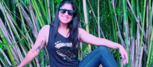 Vítima foi atacada quando andava de moto. (Arquivo pessoal).