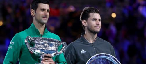 Djokovic y Thiem dieron una final épica de 5 sets. www.telegraph.co.uk
