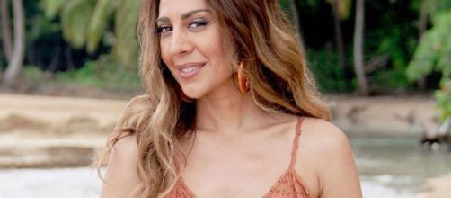 Mónica Naranjo, en 'La isla de las tentaciones'. / libertaddigital.com