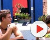 'BBB20': Babu, Felipe e Lucas almoçando na xepa. (Reprodução/TV Globo)