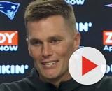 Brady will turn free agent on March 18. [Image Source: New England Patriots/YouTube]