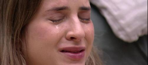 """A loira do """"BBB20"""" ressaltou que achava que Bianca sempre era preferida a ela. (Reprodução/ TV Globo)."""