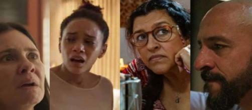 'Amor de Mãe' novela dás 21h da Globo conta histórias comoventes sobre a vida real. (FontoMontagem/Reprodução TV Globo)